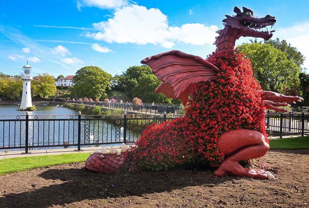 Cardiff patrimoine culture 6 jours - Logo pays de galles ...