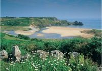 Three Cliffs Bay, Gower Peninsula, Pays de Galles