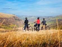Cyclisme au Parc National de Brecon Beacons