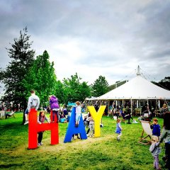 Hay Festival à Hay-on-Wye, Pays de Galles